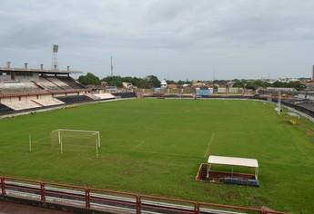 Estádio Colosso do Tapajós  (Foto: Lia Anjos/ GloboEsporte.com)
