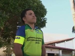 Atleta treina profissionalmente há 4 anos (Foto: Reprodução/TV São Francisco)