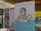 Criança de 10 anos cria desenhos para ajudar refugiados sírios no Brasil