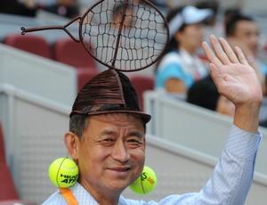 Fã de tênis WTA Pequim (Foto: AFP)