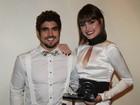 Maria Casadevall agradece a Caio Castro por prêmio: 'Existe amor'