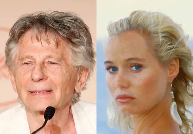 Roman Polanski e Renate Langer (Foto: Getty Images e Reprodução)