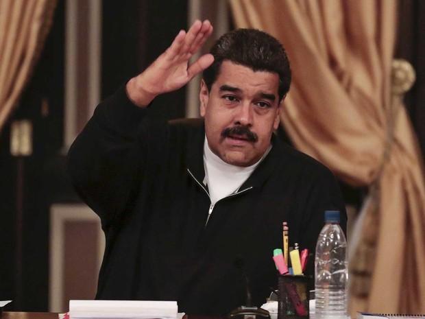 O presidente da Venezuela, Nicolas Maduro (Foto: Palácio Miraflores / via Reuters)