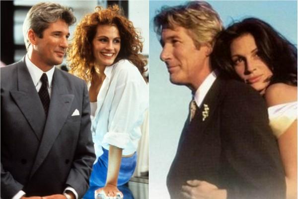 Richard Gere e Julia Roberts formaram casais icônicos no cinema. Primeiro em 'Uma Linda Mulher', de 1990, e nove anos depois em 'Noiva em Fuga' (1999) (Foto: Divulgação)