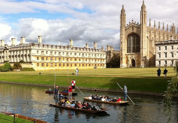 Cidade de Cambridge, no Reino Unido: semente da reforma religiosa e lar de uma das mais prestigiadas universidades do mundo (Foto: Wikimedia Commons/Wikipedia)