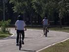 Após quase 2 anos em obras, GDF inaugura ciclovia no Parque da Cidade