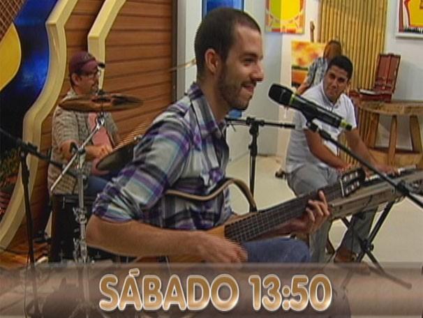 Banda Nino Luz é uma das atrações deste sábado (27). (Foto: Reprodução/TVMO)