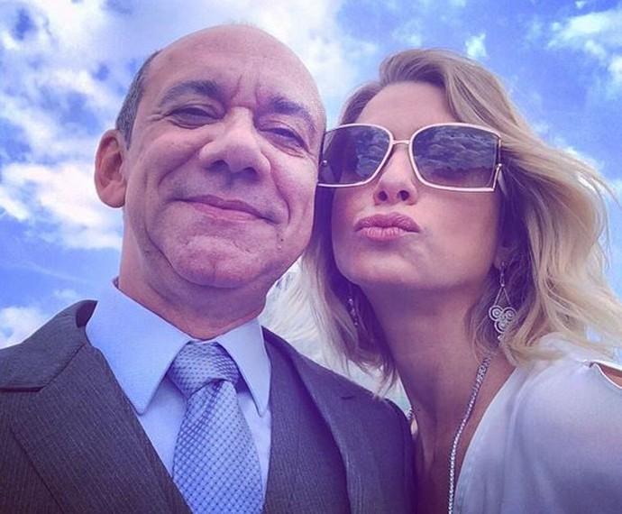 Frank Menezes elogia Letícia Spiller (Foto: Arquivo Pessoal)