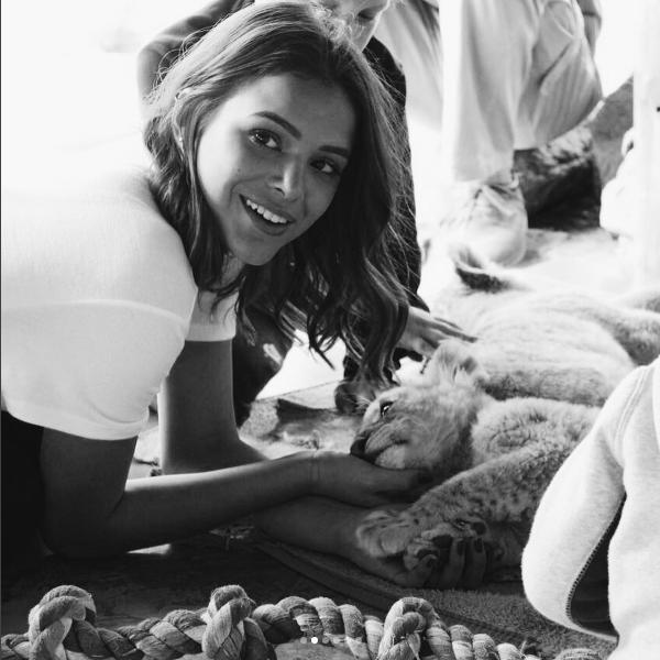 Bruna Marquezine em sua viagem à África do Sul (Foto: Reprodução/Instagram)
