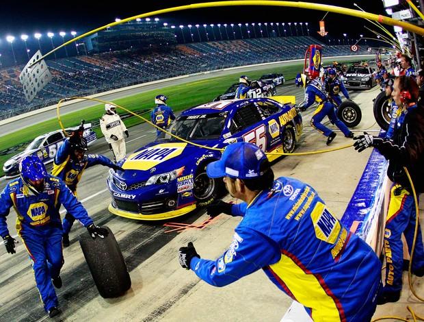 Martin Truex Jr. Nascar Chicago Michael Waltrip Racing (Foto: Agência Getty Images)