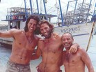 Márcio Garcia abre o baú e posta foto dos bastidores de 'Tropicaliente'