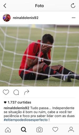 Instagram Lenis Sport (Foto: Reprodução)