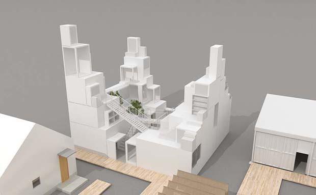 Sou Fujimoto, Kengo Kuma e Shigeru Ban projetam casas do futuro (Foto: Divulgação)