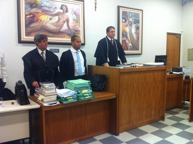 Julgamento de Pitote (Foto: Patrícia Belo/G1)