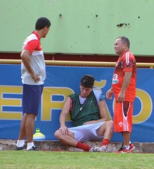 Giancarlo, atacante do Rio Branco-AC (Foto: Duaine Rodrigues)