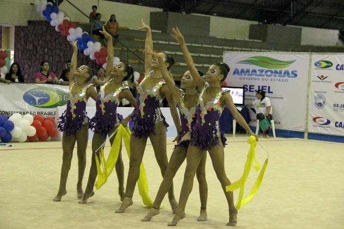 Ginástica Rítmica Amazonas (Foto: Gabriel Mansur)