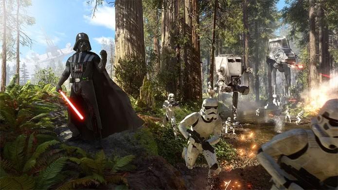 Darth Vader será um dos personagens em Star Wars Battlefront (Foto: Divulgação/EA)