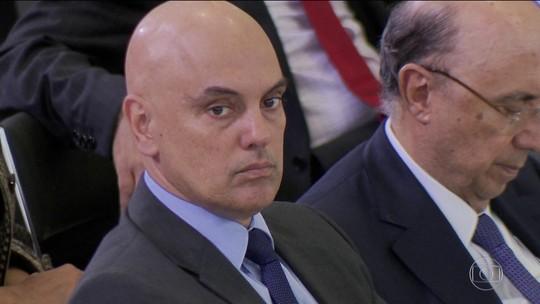 Ministro Alexandre de Moraes é indicado por Temer para o STF