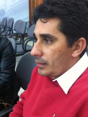 Assessor de Djalma Santos, Luciano Mineirinho (Foto: Mariana do Espírito Santo)