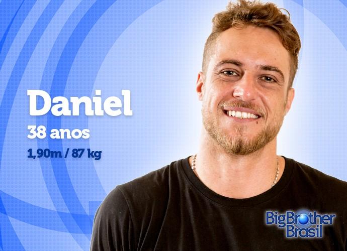 Com 87 kg, será que Daniel vai frequentar a academia? (Foto: Daniel Chevraud/Gshow)