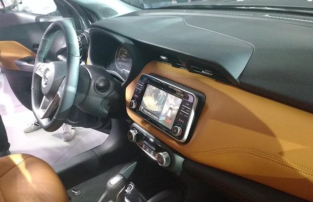Interior do Nissan Kicks (Foto: Tereza Consiglio / Autoesporte)