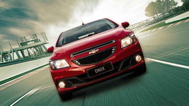 Chevrolet Onix 2016 (Foto: Divulgação)