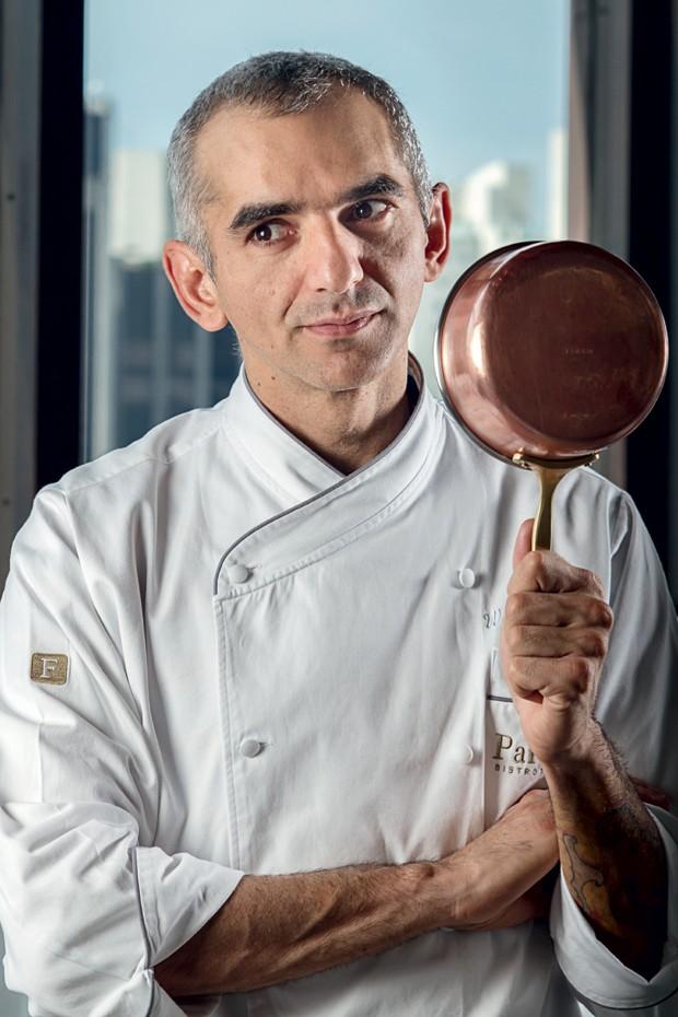 O chef Wagner Resende, do Parigi Bistrot (Foto: Rogério Albuquerque )