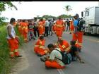 Trabalhadores do Porto do Açu, de Eike, mantêm paralisação