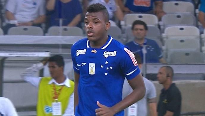 Marcos Vinícius, meia do Cruzeiro (Foto: Reprodução / TV Globo Minas)