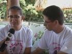 'Vou viver por justiça', diz mãe de menina (Reprodução/TV São Francisco)