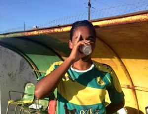 Elizabete jogadora do Sete de Setembro  (Foto: Viviane Leão/GloboEsporte.com)