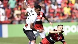 Fla perde para Vitória na Ilha do Urubu (André Durão/GloboEsporte.com)