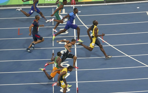 Usain Bolt final 100m rasos