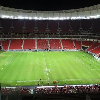 Mané Garrincha - Flamengo - Figueirense (Foto: Fred Gomes)