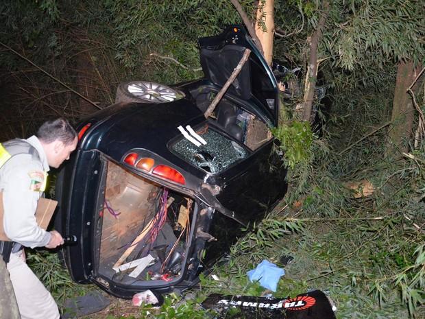 Acidente ocorreu na RS0404 em Rondinha, no Norte do RS (Foto: Rogério Machado Blog/Divulgação)