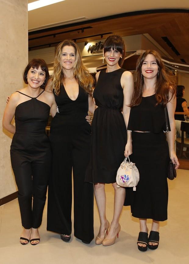 Claudia Jouvin, Luiza Mariani, Natalia Lage e Ingrid (Foto: Marcos de Carvalho Serra Lima / Ego)