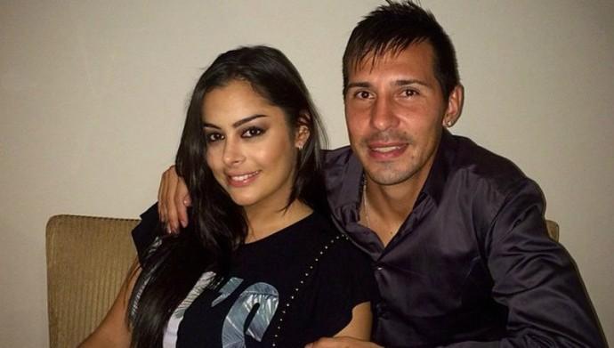 Jonathan Fabbro e Larissa Riquelme, Paraguai (Foto: Reprodução / Instagram)