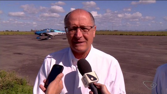Alckmin visita ES e firma parceria para pesquisar novas variedades de café
