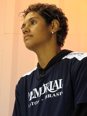 Simone Duarte boxe São Vicente (Foto: Bruno Gutierrez)