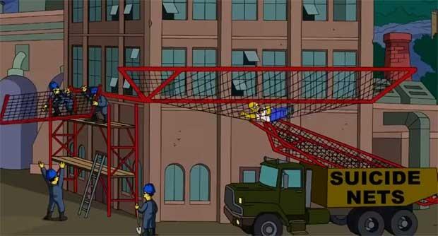 Romer cai em 'rede de suicídio' após pular de fábrica na China, em referência a episódios de suicídio da taiwanesa Foxconn (Foto: Reprodução/YouTube)