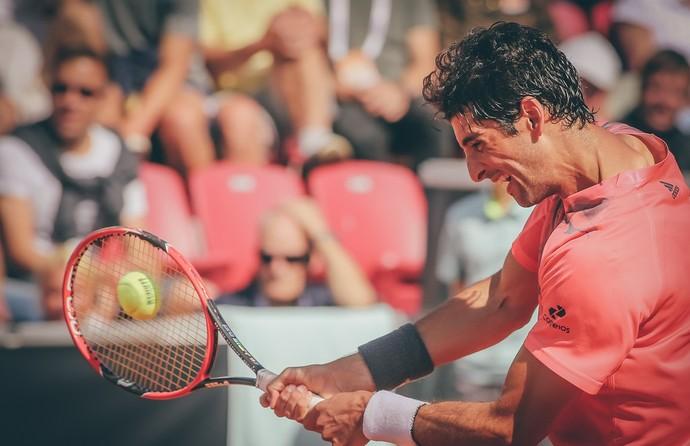 Thomaz Bellucci vence Elias Ymer no ATP de Bastad (Foto: Fredric Berggren / Skistar Swedish Open)