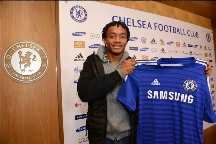 Cuadrado Chelsea (Foto: Reprodução / Site Oficial)