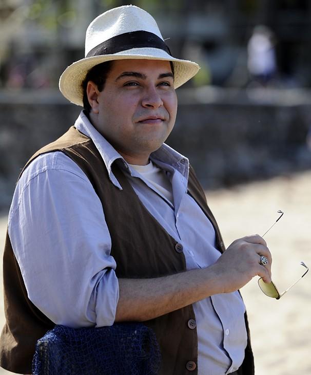 Tiago Abravanel vive um malandro em Joia Rara (Foto: Globo / Estevam Avellar)