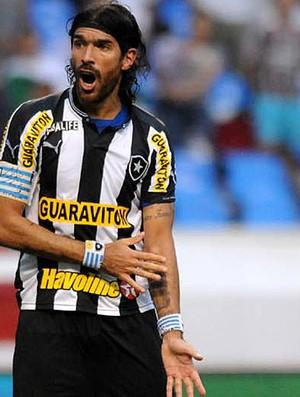 loco abreu botafogo Fluminense (Foto: André Durão / Globoesporte.com)