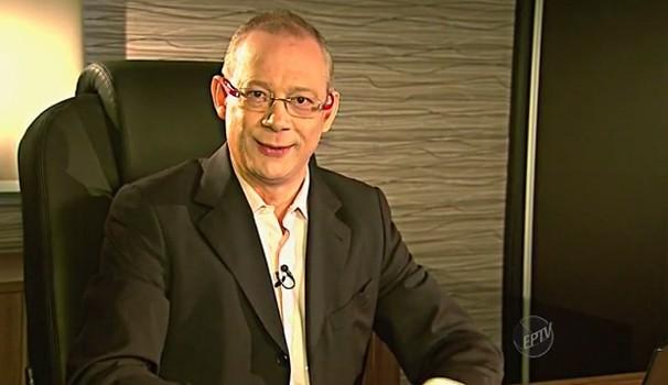Especialista em previdência, Hilário Bocchi Jr. dá dicas para adiantar aposentadoria (Foto: Reprodução / EPTV)