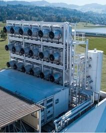 Inovadora máquina que absorve CO2