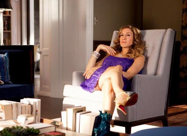 Carrie Bradshaw em Sex and the City (Foto: Reprodução)