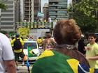 Manifestantes fazem protesto contra corrupção em Santa Catarina