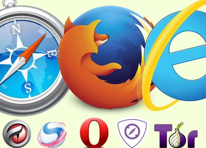 Navegadores de internet podem substituir o Chrome para não acabar com a bateria (Foto: Arte/TechTudo)