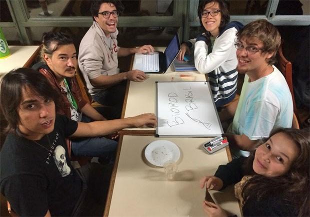 Estudantes da USP foram aceitos em competição de Harvard de design biomolecular (Foto: Divulgação/Protomatos)